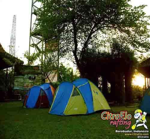 CitraElo Camping Base Camp Arung Jeram Sungai Elo