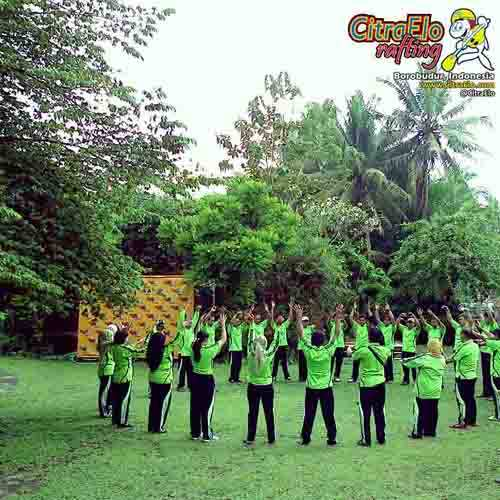CitraElo Outbond Training Outing Team Building
