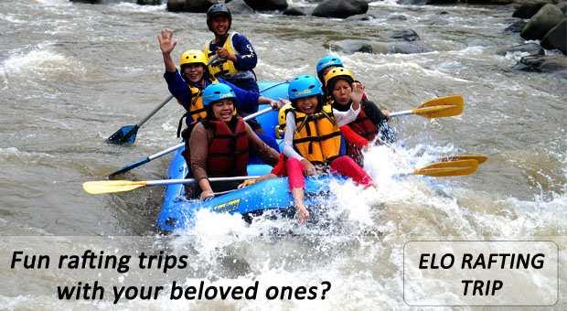 CitraElo Rafting Arung Jeram Sungai Elo 1