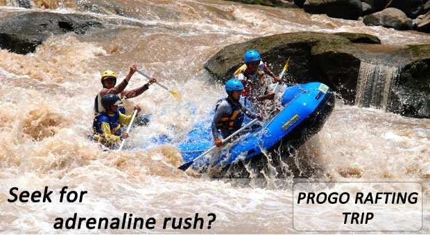 CitraElo Rafting Arung Jeram Sungai Progo 1