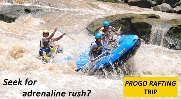CitraElo Rafting Arung Jeram Sungai Progo 2