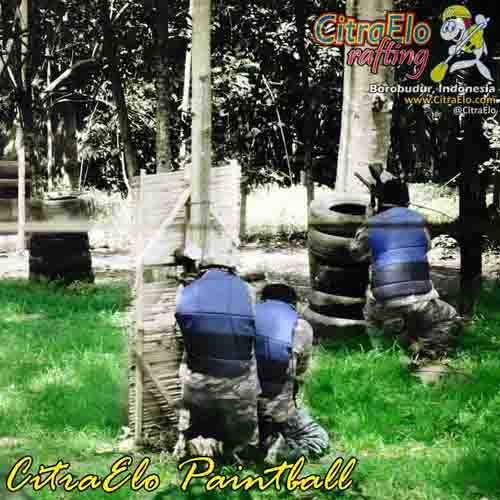 CitraElo Paintball Base Camp Arung Jeram Sungai Elo