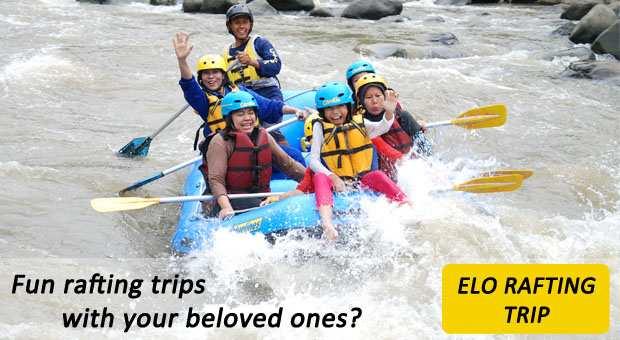 CitraElo Rafting Arung Jeram Sungai Elo 2