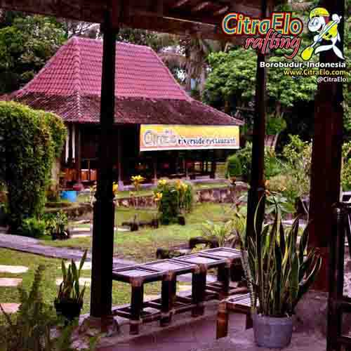 CitraElo Riverside Restaurant Base Camp Arung Jeram Sungai Elo