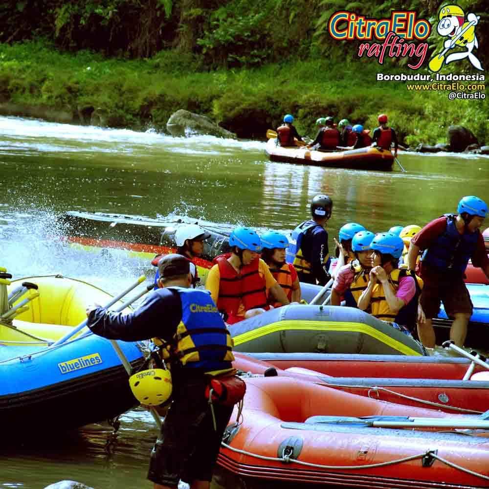 CitraElo Sungai Elo CitraElo Rafting Arung Jeram Sungai Elo Progo